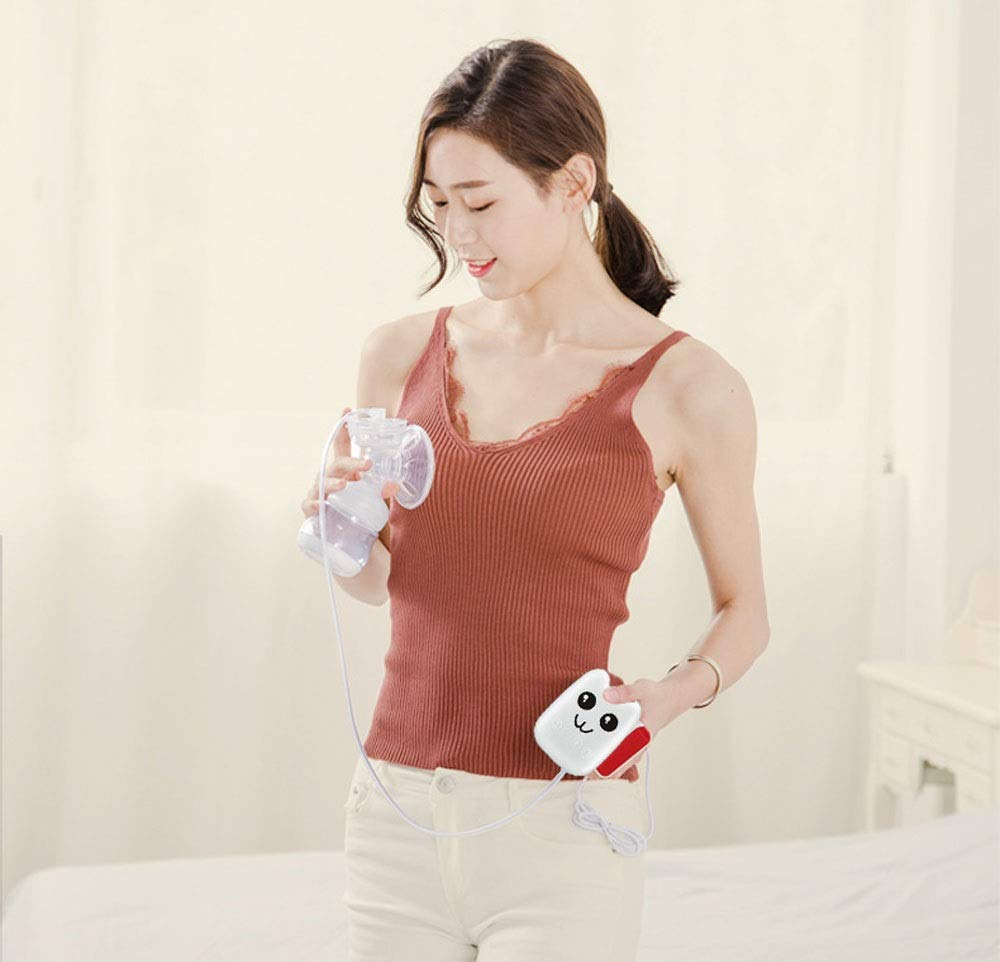 Color : White Maternal Breast Pump Breast Pump Suction Mute Touch Type Electric Breast Pump