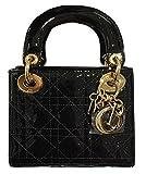 Fashion Dior Black Silver Dai Fei Ladies Shoulder Hand Crossed Women's Bags