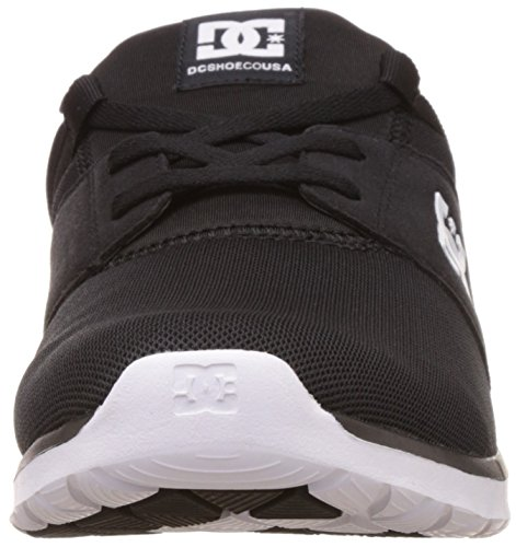 Dc Heathrow Chaussures Noir Blanc