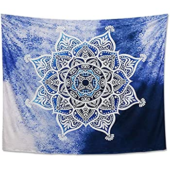 Amazon Com Tapestry Wall Hanging Cotton Tapestry Mandala