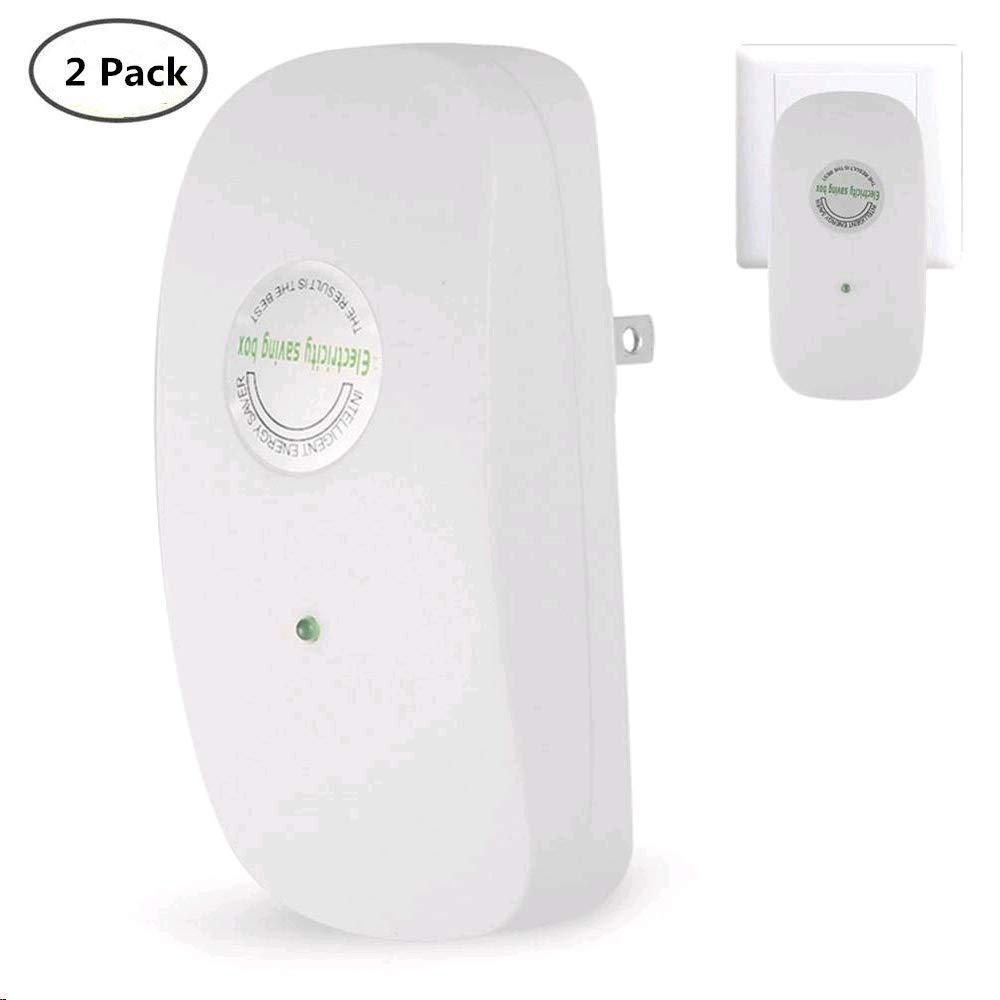 Electricity Saver, 2Pack 30KW Home Electricity Saving Box Intellegent Energy Saver Power Saver Device Yosoo