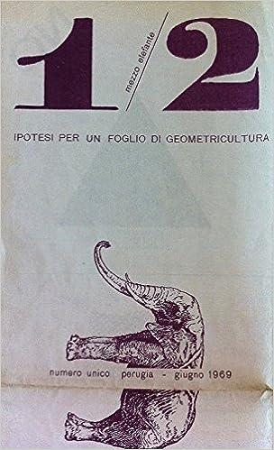 1/2 elefante. Ipotesi per un foglio di geometricultura ...