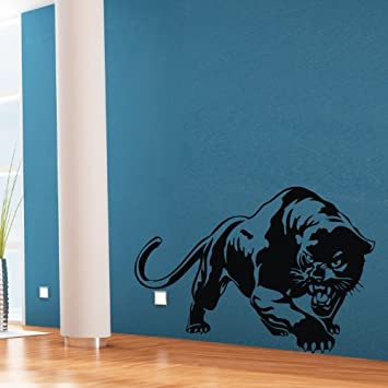 Black Wall Sticker Decal Decor Lovely Animal Panther Wall Art Mural Decal  Sticker Home Kids Room
