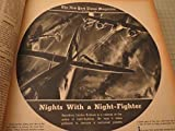Bound Volume of The New York Times Magazine July-December 1942 - World War Two - Stalingrad - Erwin Rommel - Guadacanal - Bambi - Al Hirschfeld - Night Fighter - Christmas On Our Fronts - WWII Posters - FBI: J.Edgar Hoover