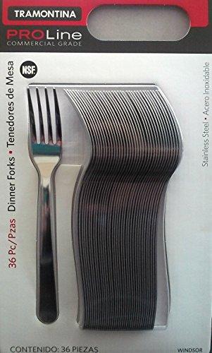 Tramontina Pro Line 36 Dinner Forks Commercial Grade - Restaurant Flatware