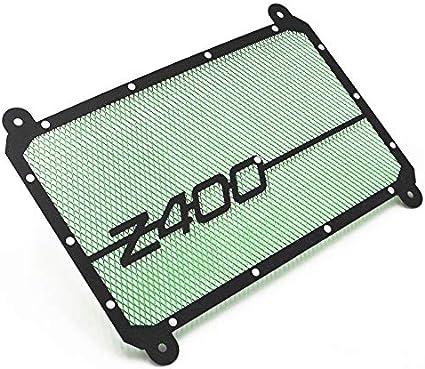 Color : Green Moto Accessoires Moto Grille de radiateur Garde Protecteur de radiateur Garde Street Bike Racing Grill for Kawasaki Z400 2018 NINJA400 2019