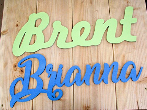 Custom name sign, up to 27', 1/4' thick, name sign for nursery, name sign for kids, wooden name cutout, wood name sign for wall, wood