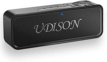 UDISON Portable Bluetooth Speaker 4.2 with Enhanced Bass