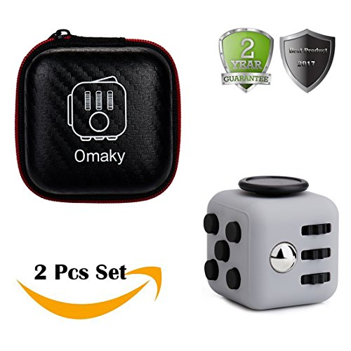Omaky-Fidget-Cube-Anxiety-Attention-Toy-With-Delicate-Box-Relieves-Stress-And-Anxiety-And-Relax-for-Work-Class-Home