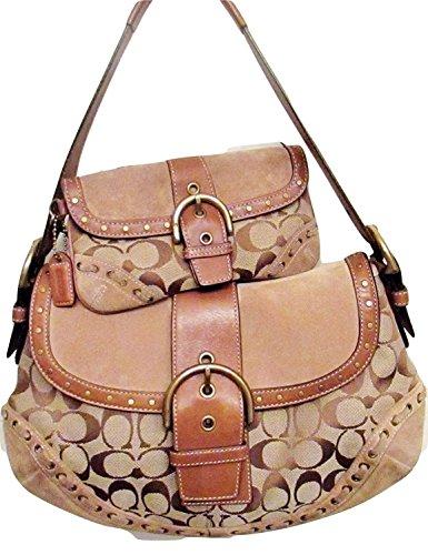 uckle Flap Shoulder Bag, G06W-9373 (Soho Flap Handbag)