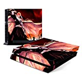 Decorative Video Game Skin Decal Cover Sticker for Sony PlayStation 4 Console PS4 - Bleach Ichigo