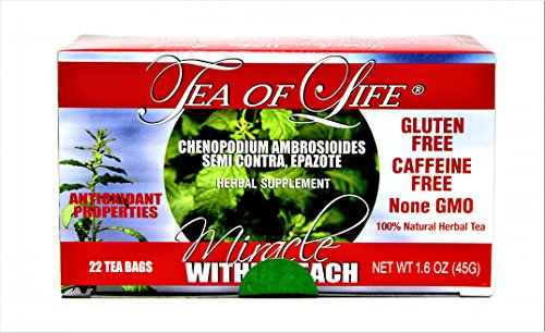 Tea of Life® Semi-Contra Herbal Tea 1.6oz (22 tea bags) (Tea Tea Of Life Honey Green)