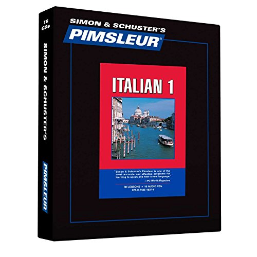 Pimsleur Italian Level 1 CD: Learn to Speak and Understand Italian with Pimsleur Language Programs (1) (Comprehensive)