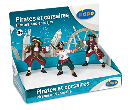 (Papo Set of 3 Pirates and Corsairs)