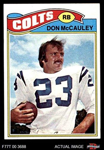1977 Topps # 288 Don McCauley Baltimore Colts (Football Card) Dean's Cards 8 - NM/MT Colts (1977 Topps Card Colts)