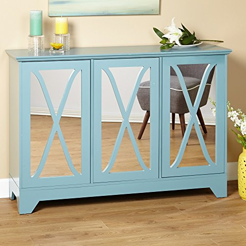 Simple Living Reflections Antique Blue Buffet Console by Simple Living by by Simple Living