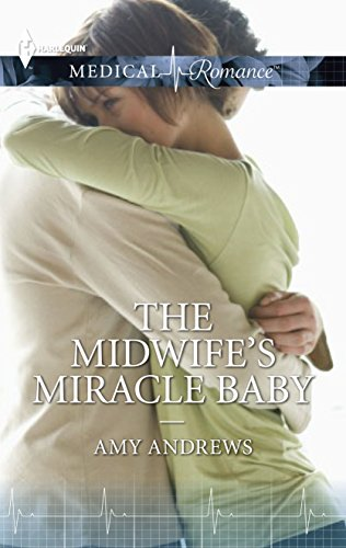 book cover of The Midwife\'s Miracle Baby