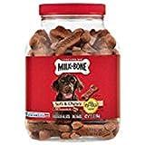 Cheap .Milk-Bone Soft & Chewy Dog Snacks (Beef & Filet Mignon Recipe) 37oz (2-Pack (37oz))