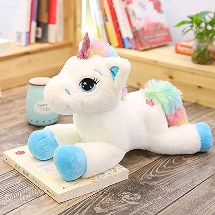 Unicorn Plush Toy Stuffed Pink Blue Cotton Animal Kids Baby Soft Gift