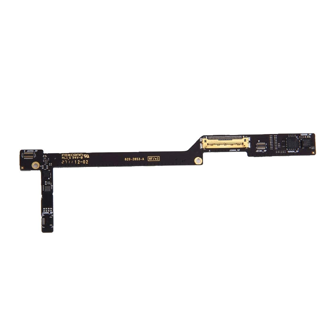 DASHOUU Replacement Parts Parts for iPad LCD Connector Flex Cable for iPad 2(WiFi Version)