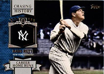 Amazoncom 2013 Topps Chasing History Baseball Card Ch 11
