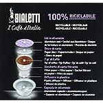 Bialetti-96080090M-Espresso-Capsule-Milano-Alluminio-16-Pezzi