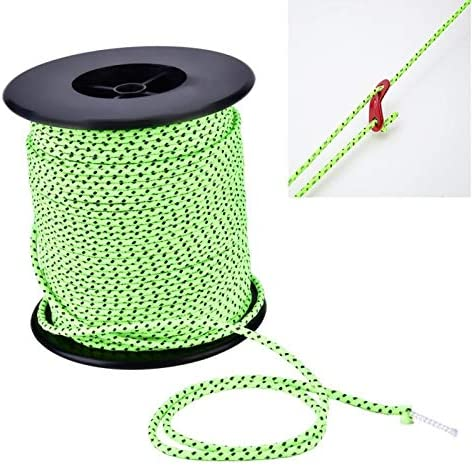 Latex Camping Tent Rope 【2021 New Years Special】 Polyester Silk Red Tent Poles Cord Lanyard Taidda Professional Manufacture for Outdoor Hanging Bottle Key Chain Canopy Pole