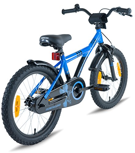1cad753527e PROMETHEUS Kids bike 16 inch Boys and Girls in Blue & Black with ...