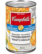 Campbell's Light Homestyle Chicken Noodle Soup, 284ml