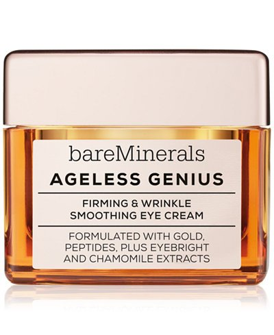 bareMinerals Ageless Genius Firming and Wrinkle Smoothing Eye Cream, 0.5 Ounce - Genius Eye