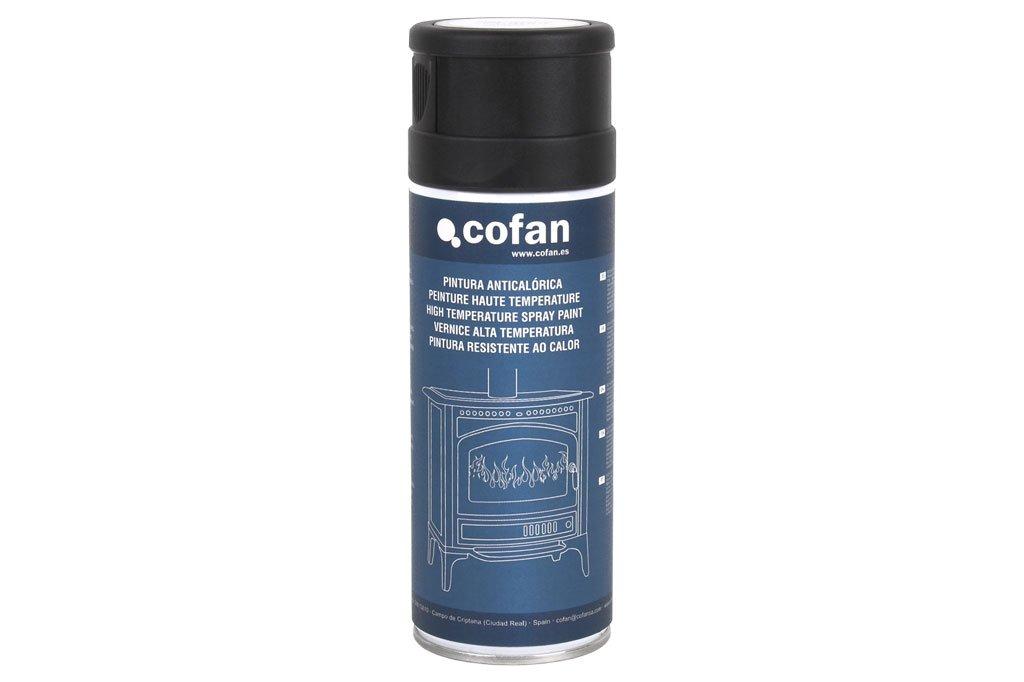 Cofan 15001017 Pintura Anti calórica, Negro, 400 ML: Amazon.es: Bricolaje y herramientas
