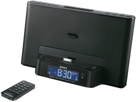 Discontinued by Manufacturer Sony ICFCS15IP 30-Pin iPod//iPhone Speaker Dock Black