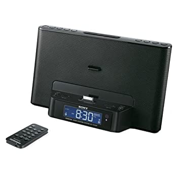 Amazon.com: Sony ICFCS15 iPhone/iPod Clock Radio Speaker ...