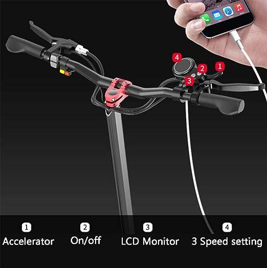 Amazon.com: Z-HBMT Scooters eléctrico para adultos, plegable ...