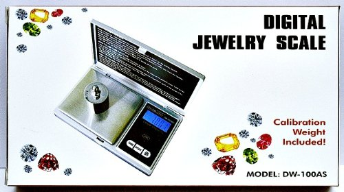Digital Diamond Tester with Precious Metals Test Kit, Electronic Scale, Jeweler 30x Glass Loupe and More by Culti (Image #2)