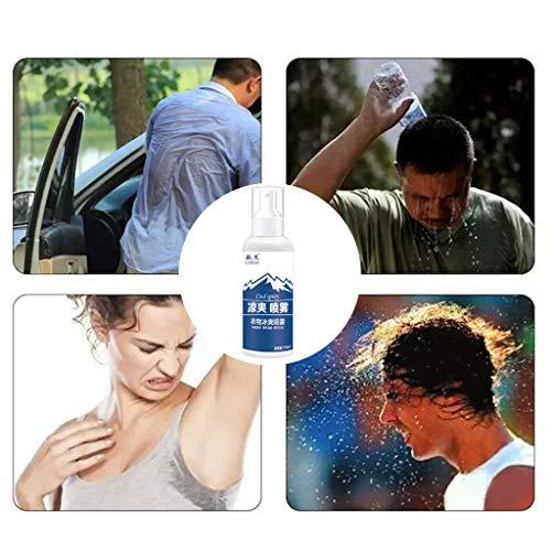 100 Ml Room Spray - Lumumi Outdoor Sports Cooling Spray Refreshing Anti-perspirant Anti-heatstroke Rapid Cooling Agent Spray 100ML