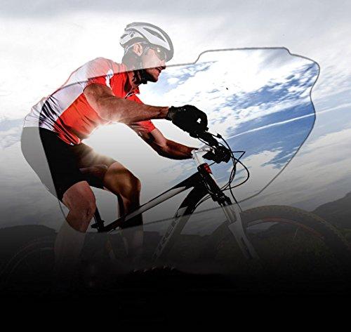 de explosiones Espejo polarizado Esquí PC Aire para Montañismo los Gafas a al Red Protección Prueba Libre Ojos Pescar Deportes Material qgURTxX