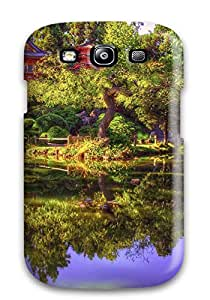 Fashionable Style Case Cover Skin For Galaxy S3- Japanese Garden 2890629K16478179