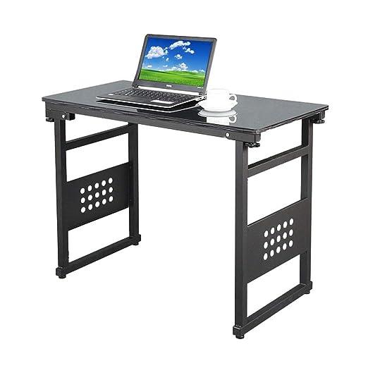 Escritorio para Laptop Mesa de Ordenador portátil Cepillado Negro ...