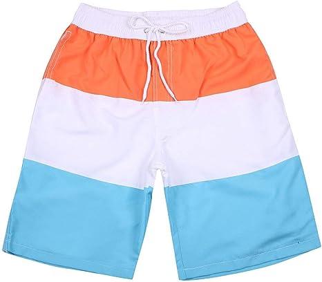 HMKYYJ Pantalones Cortos de Playa para Hombres Que Combinan con el ...