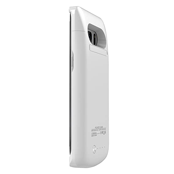 Amazon.com: Galaxy S7 Edge Protector Blanco con Batería ...