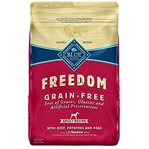 Blue Buffalo Freedom Grain Free Recipe for Dog, Beef Recipe, 11 lb 103