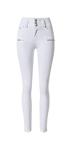 Saoye Fashion Pantalones De Mezclilla para Mujer Pantalones ...
