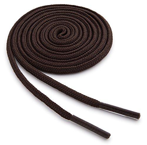 36 brown dress shoe laces - 8