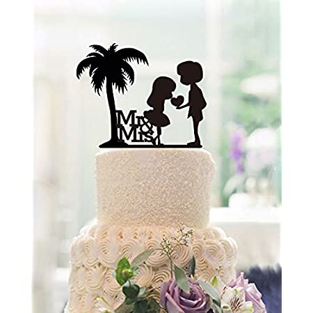 512KrhjIc8L._SS450_ The Best Palm Tree Wedding Cake Toppers