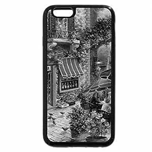 iPhone 6S Plus Case, iPhone 6 Plus Case (Black & White) - Ristorante F2