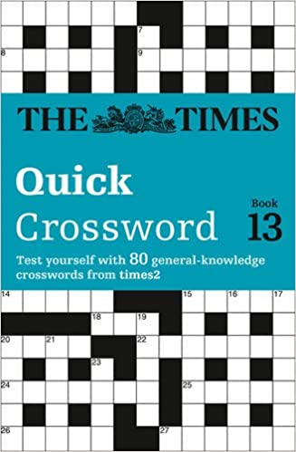 The Times Quick Crossword Book 13