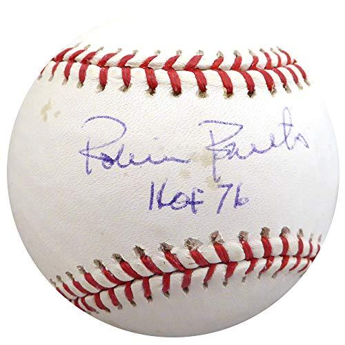 (Robin Roberts Autographed Signed Memorabilia Official MLB Baseball Philadelphia Phillies Hof 76 - Beckett Authentic)