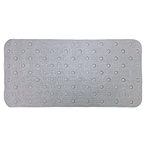 Ginsey, Grey Playtex Cushy Comfy Safety Bath Mat