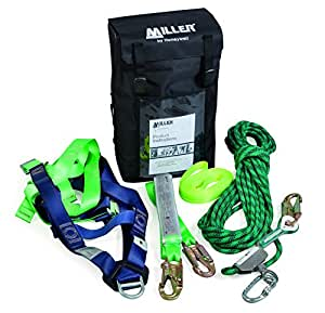 Honeywell Miller M1070033 Roof Workers Kit With Kermantle Rope/Lanyard
